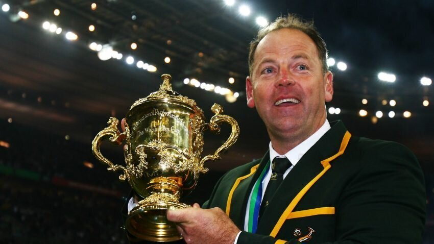Jake White Webb Ellis Cup