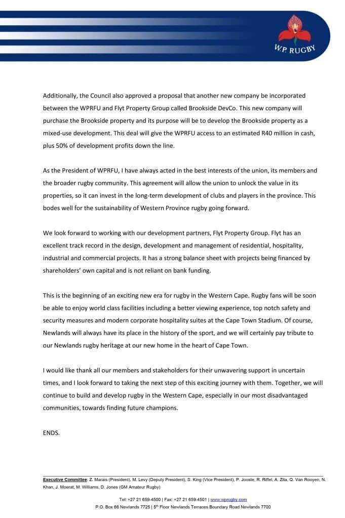 MEDIA-STATEMENT---WPRFU-President_1-Jul-2020-