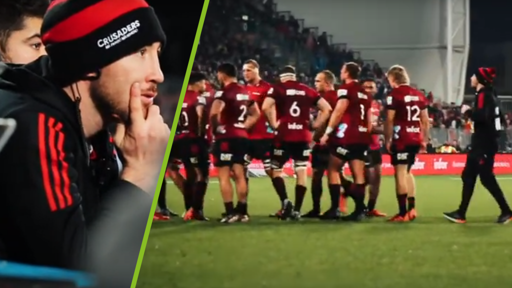 Crusaders provides unprecedented access during an intense match