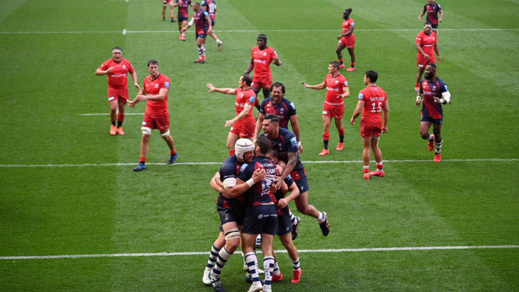 Bears edge Saracens to move up to second