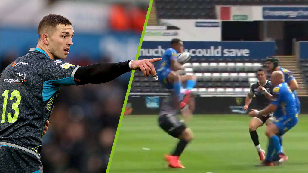 Watch George North sent packing for horrible challenge