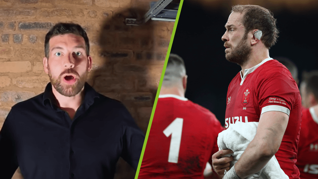 Jim Hamilton omits Welsh captain in his B&I Lions XV