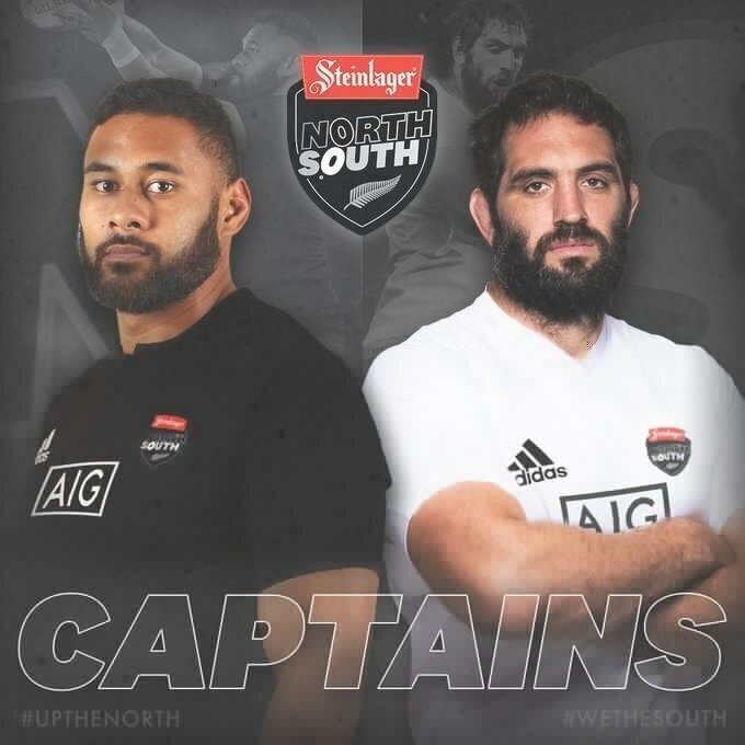 North-South captains