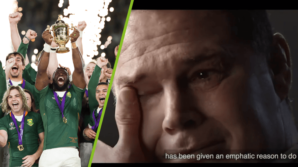 Rassie Erasmus reduced to tears in Bok documentary