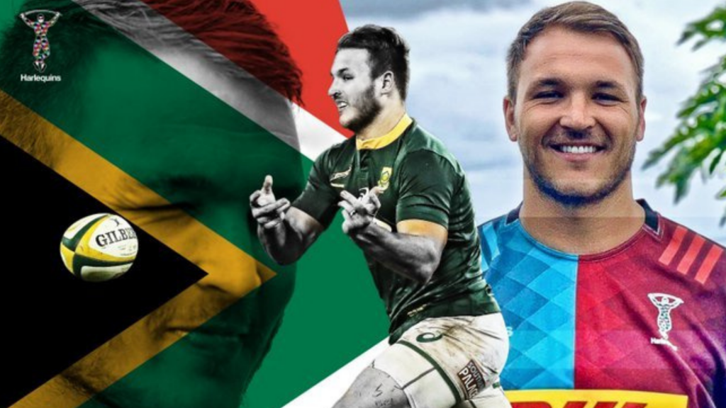 Bok duo get their first start for Quins