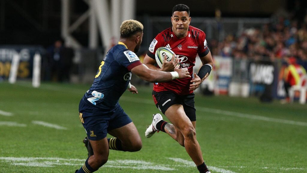 Highlanders continue to raid Crusaders' resources