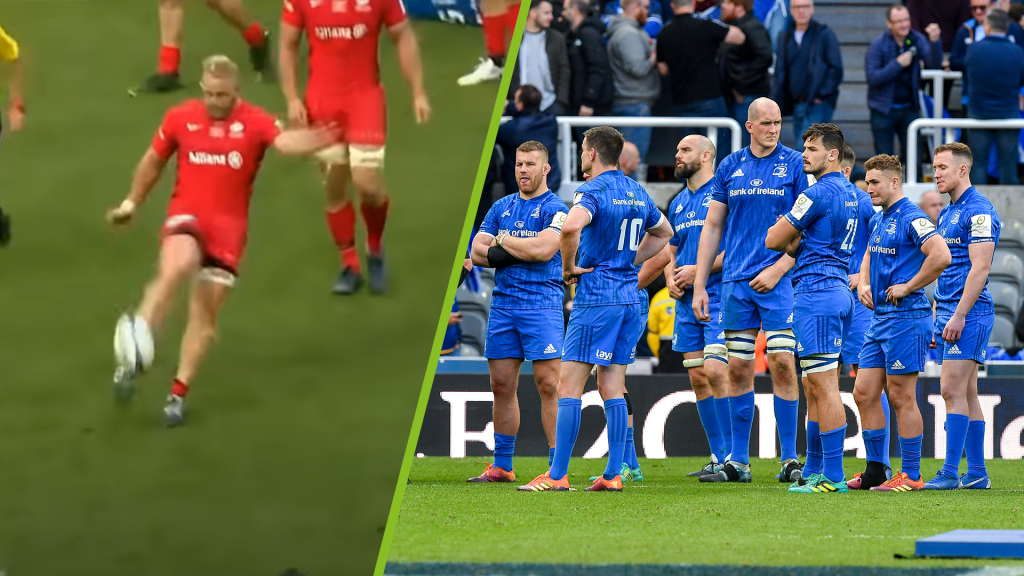 Leinster, Sarries rivalry lives on