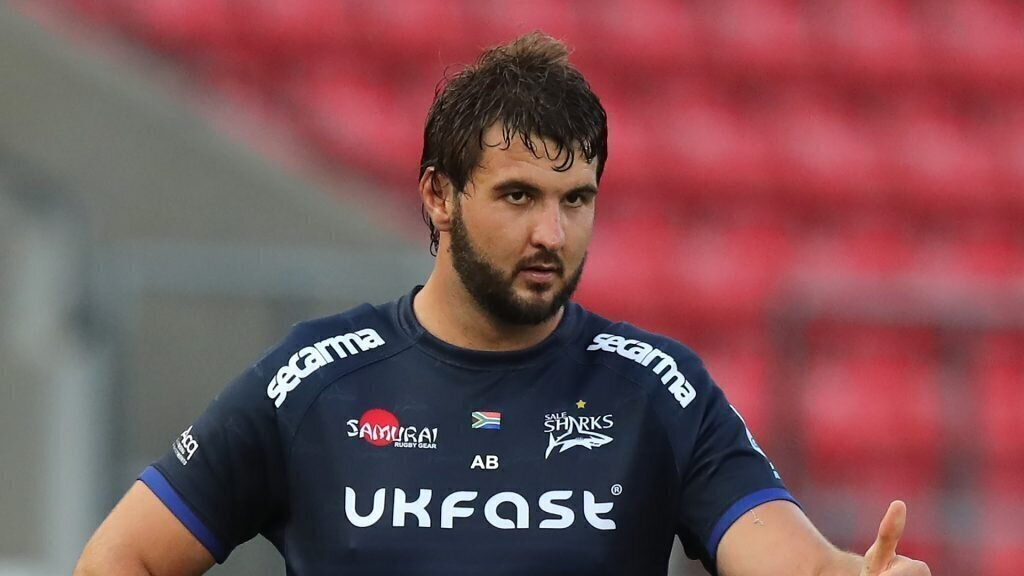 Sale Sharks' astonishing Lood de Jager update