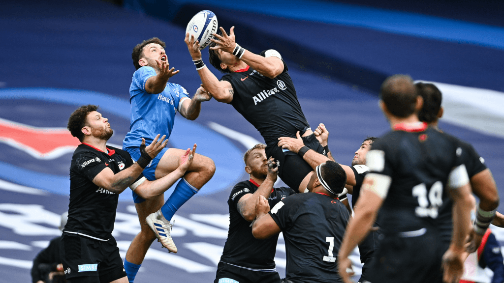 Rhodes stars as Saracens hold off Leinster | Rugby365