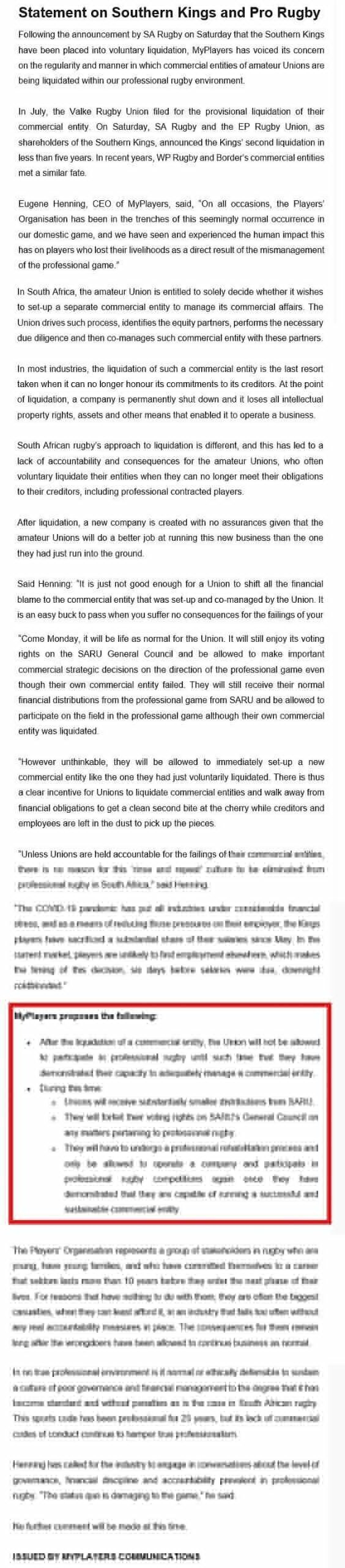 MyPlayers-statement-on-Kings