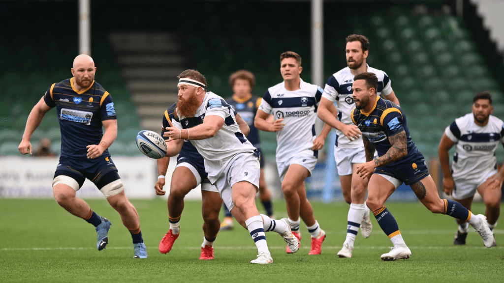 Bristol outplay Worcester to move up to second