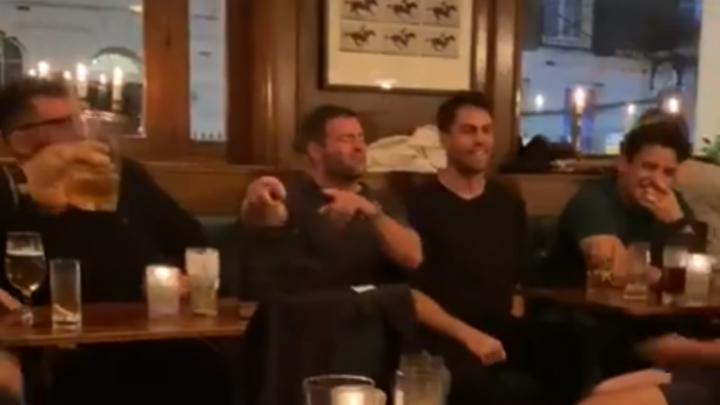 Footage emerges of BaaBaas' night out