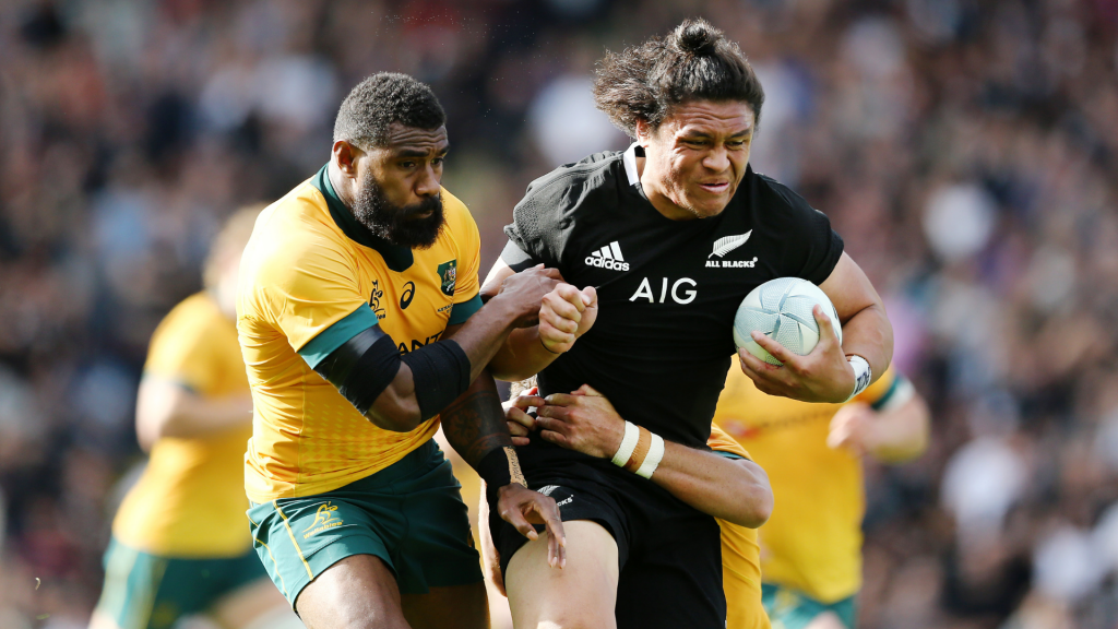 VIDEO: All Blacks' new powerhouse wing destroys Wallabies