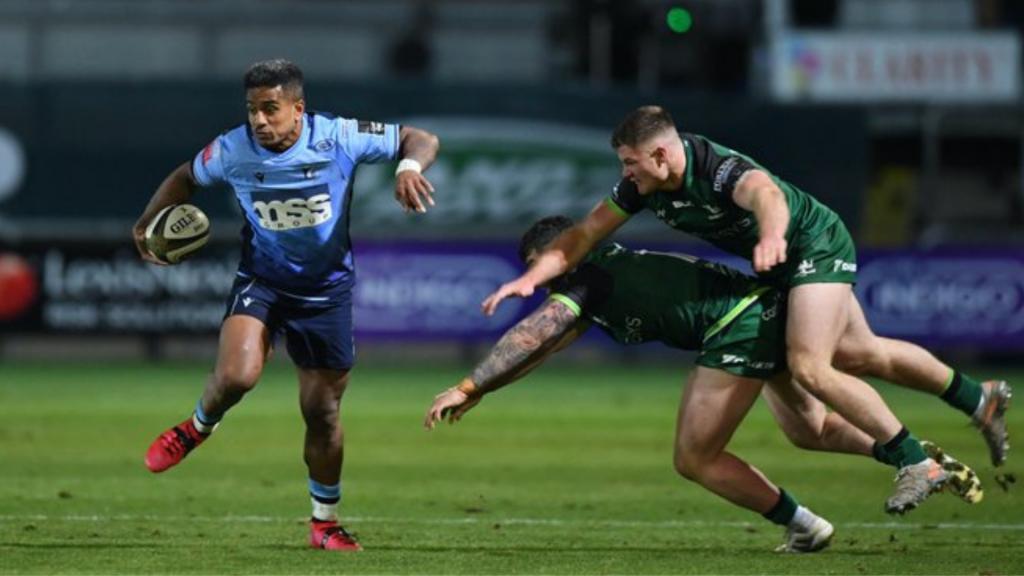Cardiff outclass Connacht for bonus-point win