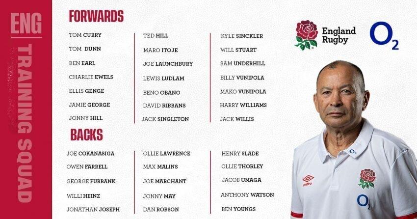 England Six Nations squad