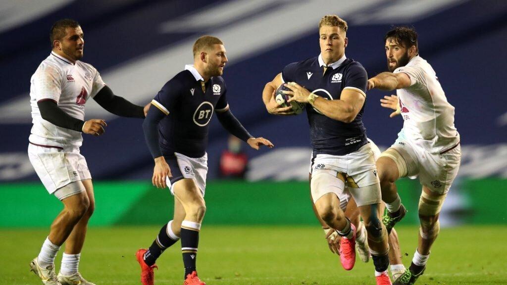 How Scotland made Van Der Merwe's debut 'special'