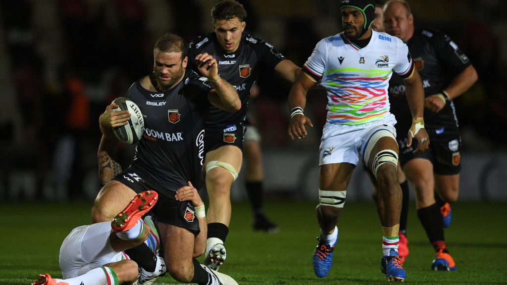 Dragons hold off Zebre