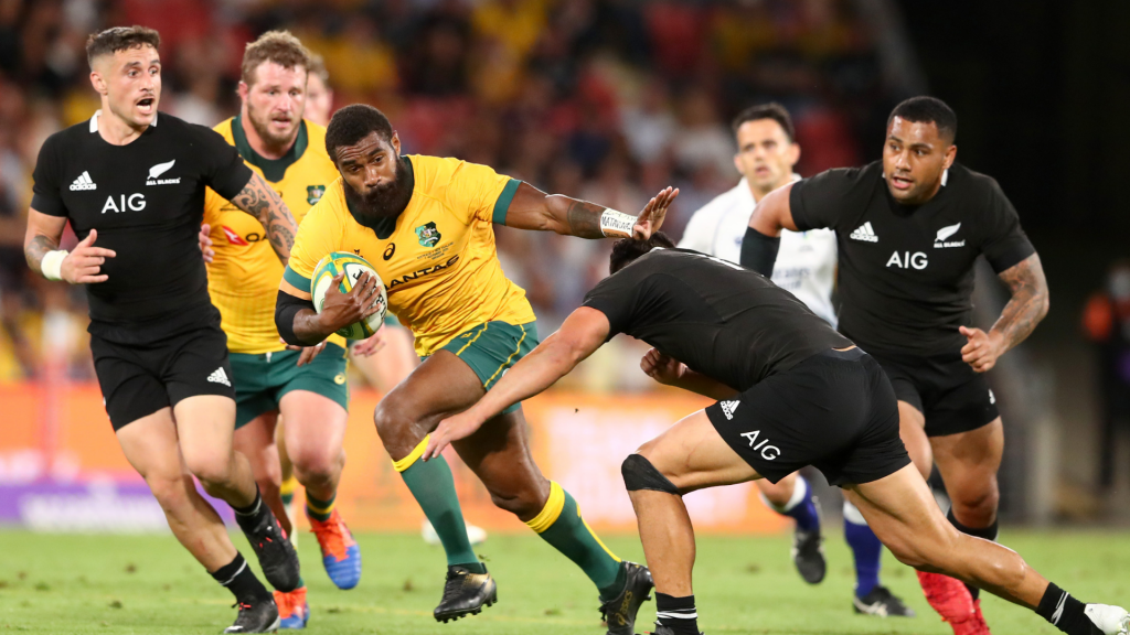 Cards galore as Wallabies stun All Blacks