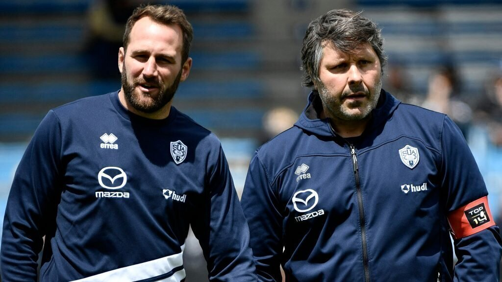 Agen axes coach after 'intolerable' loss