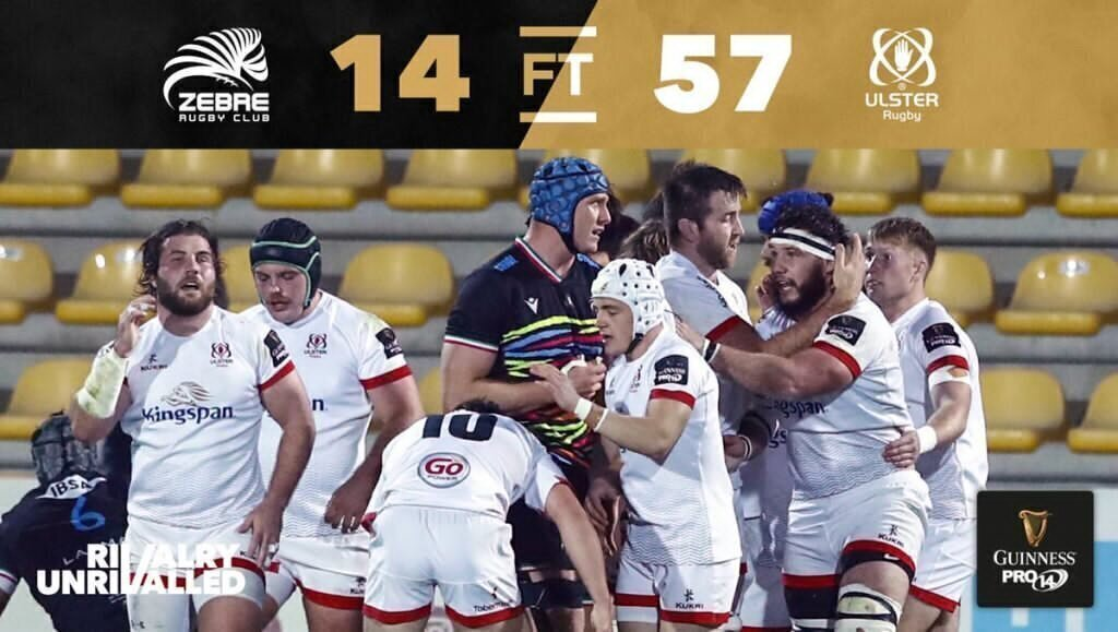 Bok in imperious form for unbeaten Ulster