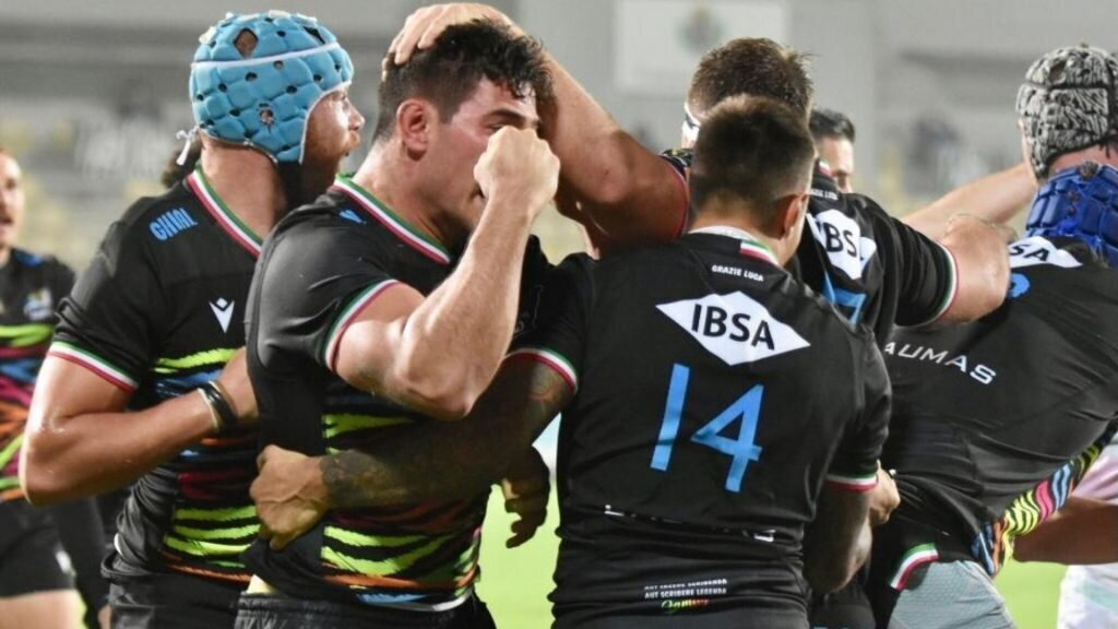 Zebre stun Ospreys for first win of the season