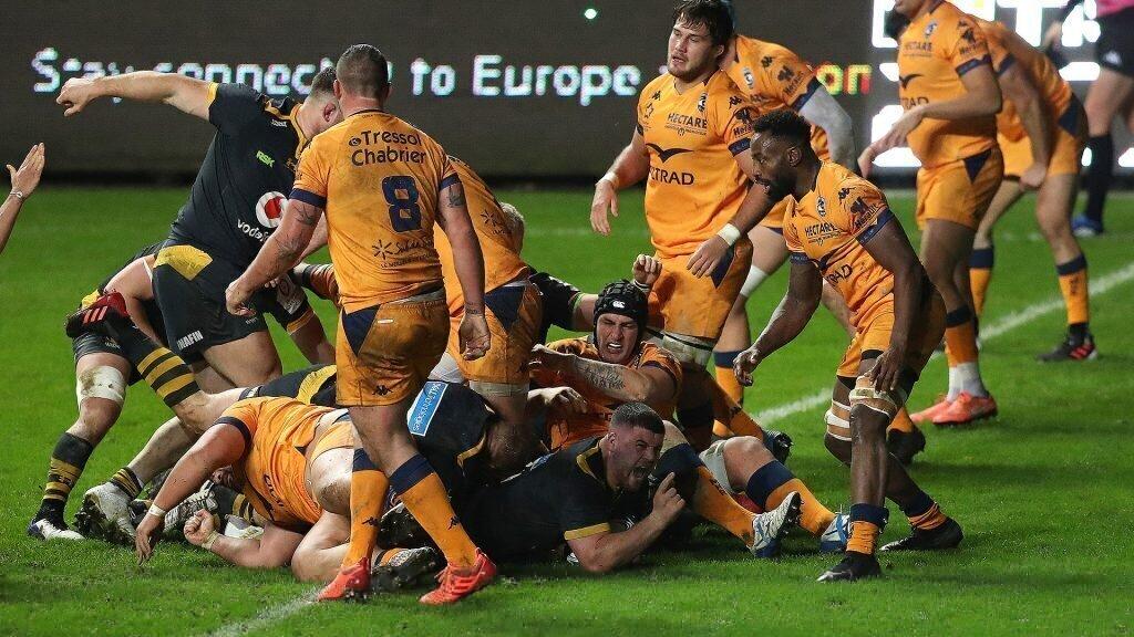 Wasps sting 14-man Montpellier
