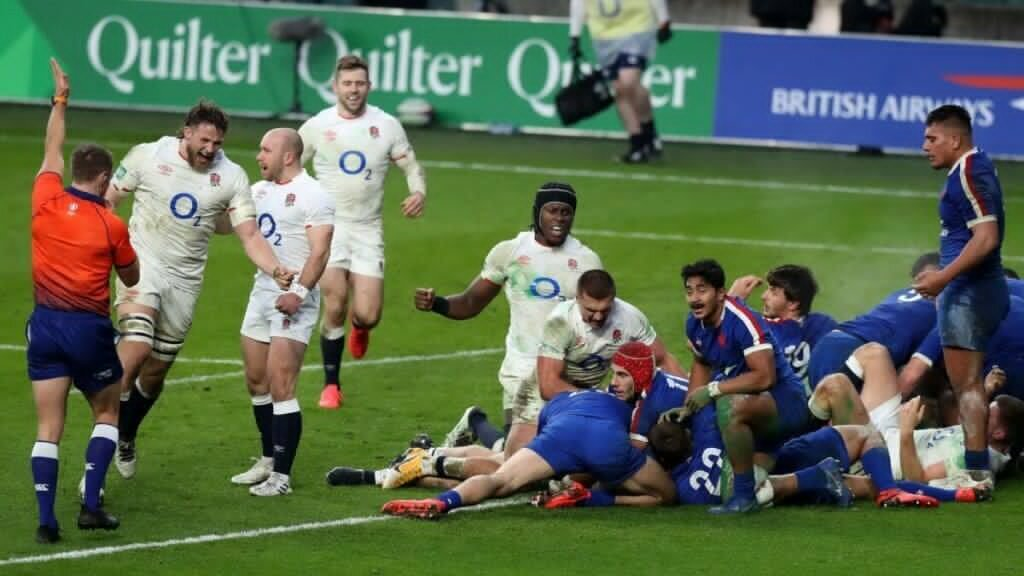 Social media explode with 'evidence' of referee robbing France