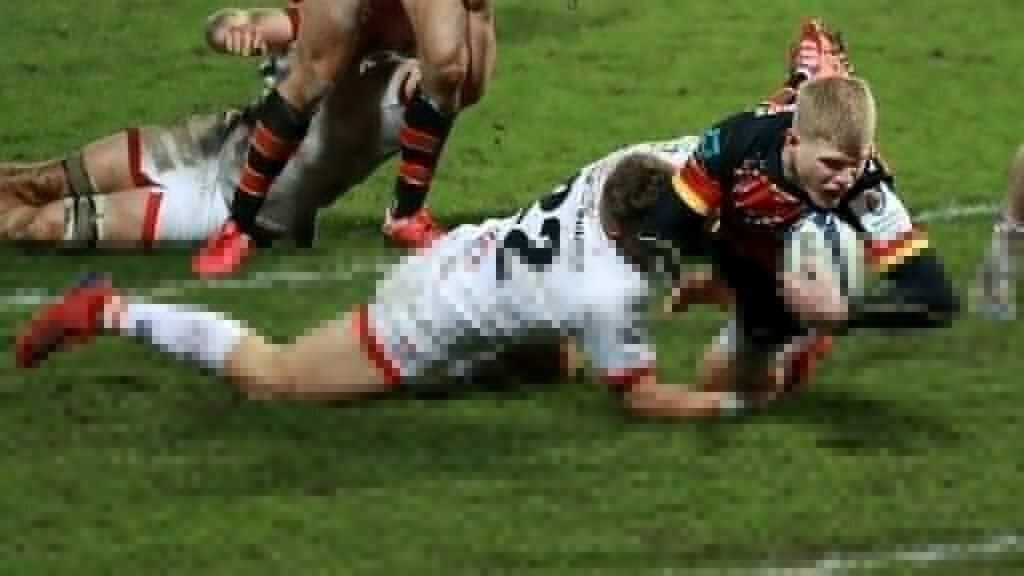 Barton try secures Gloucester dramatic late winner