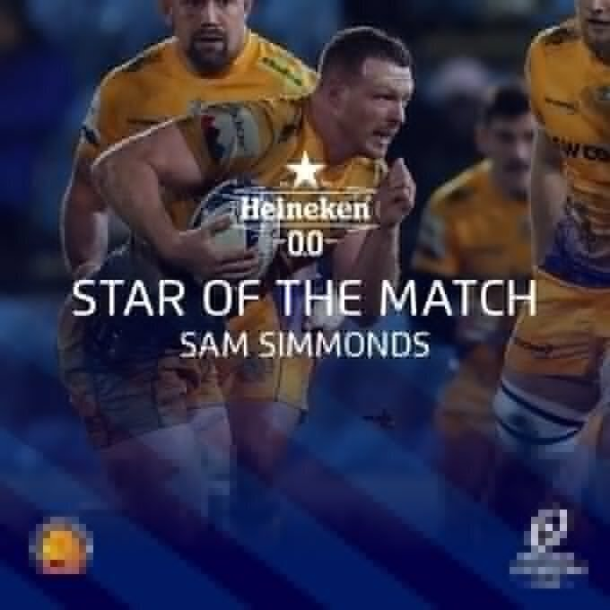 Sam Simmonds MotM