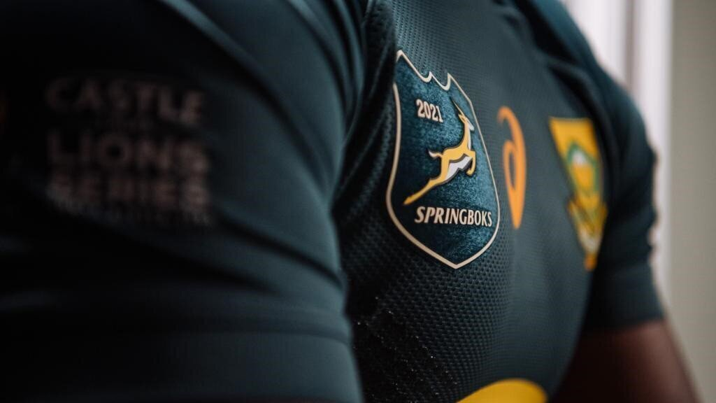 Special Bok jersey for B&I Lions