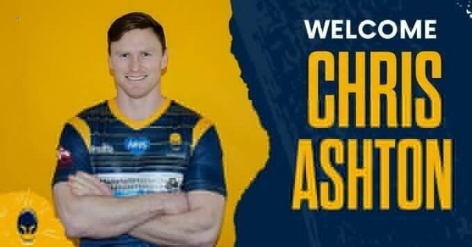 Chris Ashton Warriors