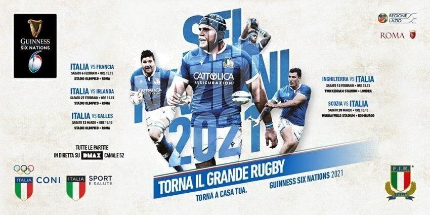 Italy 6N fixtures