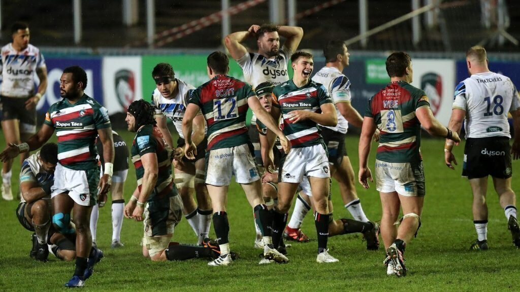 Ford stars as Leicester fight back to beat Bath