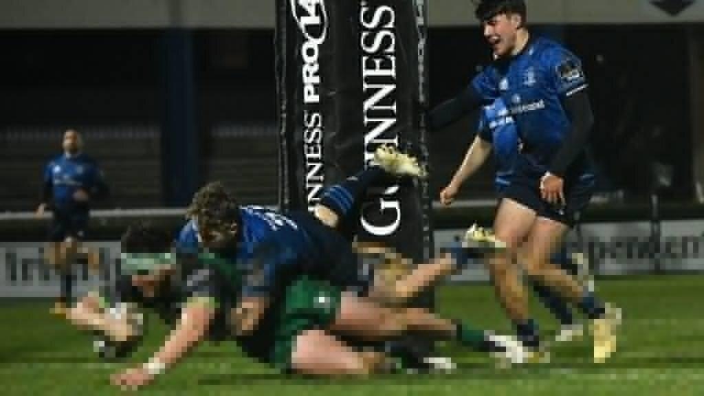 Connacht shock Leinster