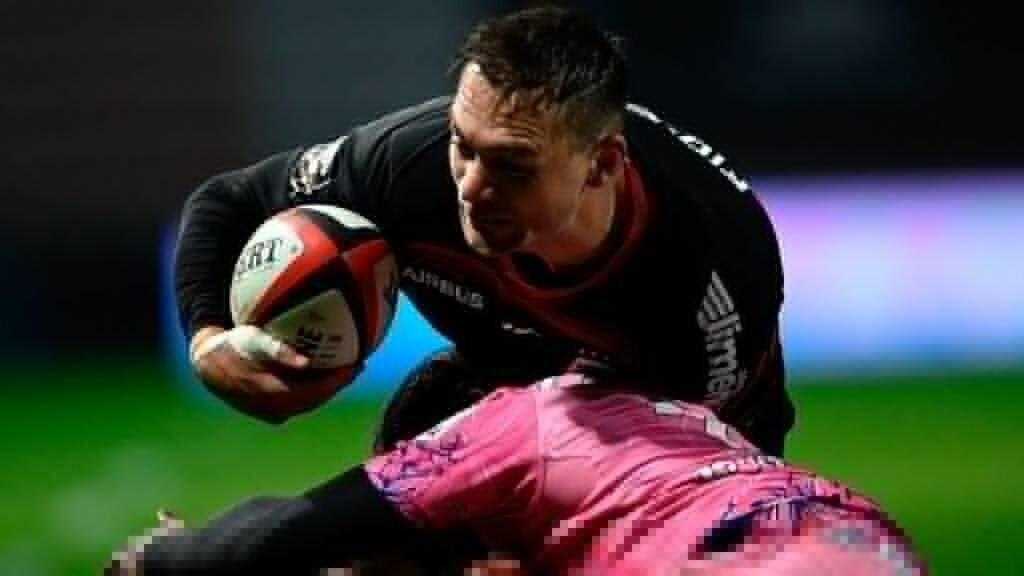 Toulouse rout Stade Francais to move to the top