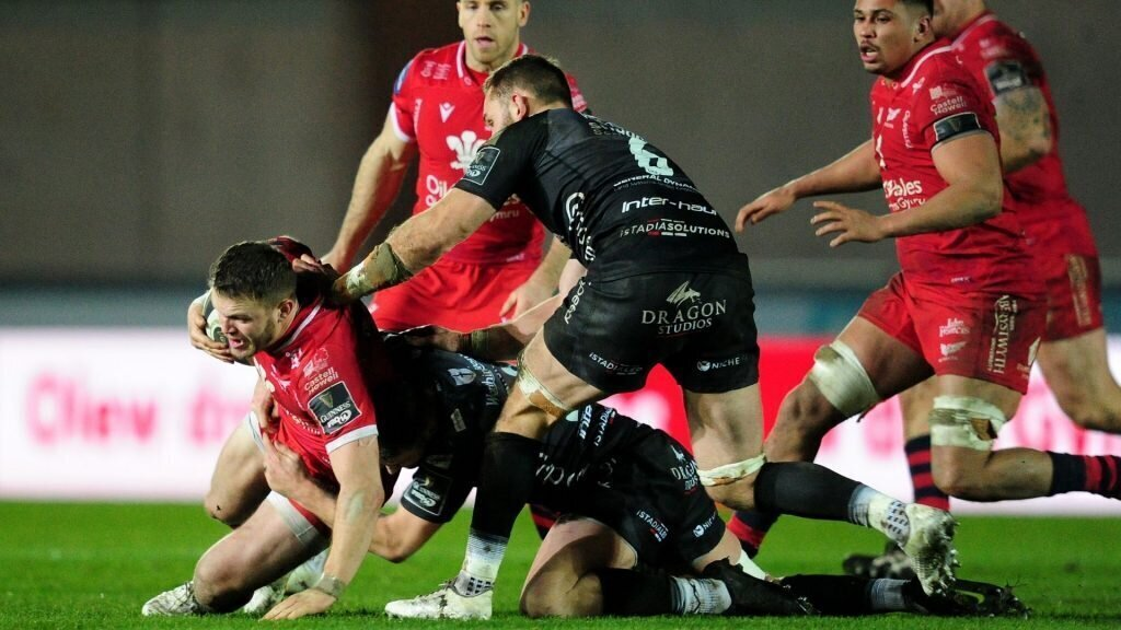 Scarlets too good for Dragons