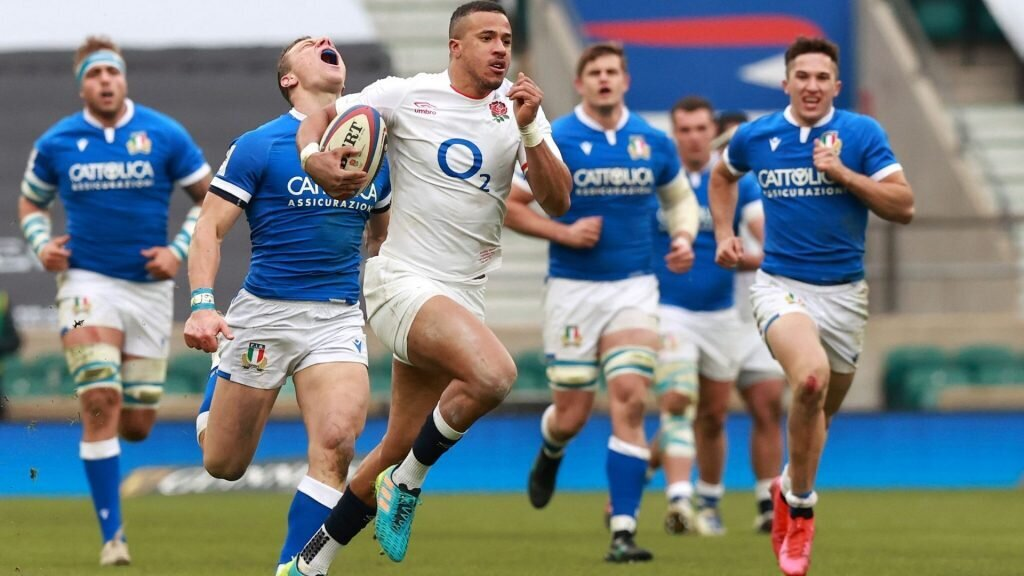 Watson's double helps England bounce back against Italy