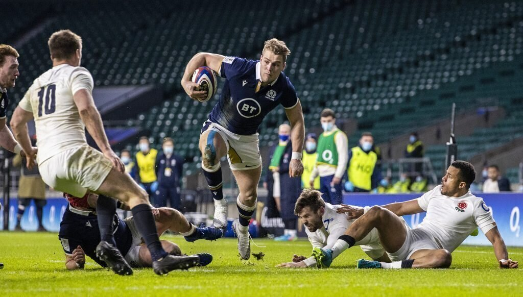 South African connection stars as Scotland upsets England