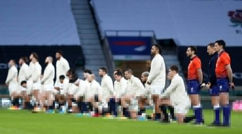 England star defends taking a knee at Six Nations matches