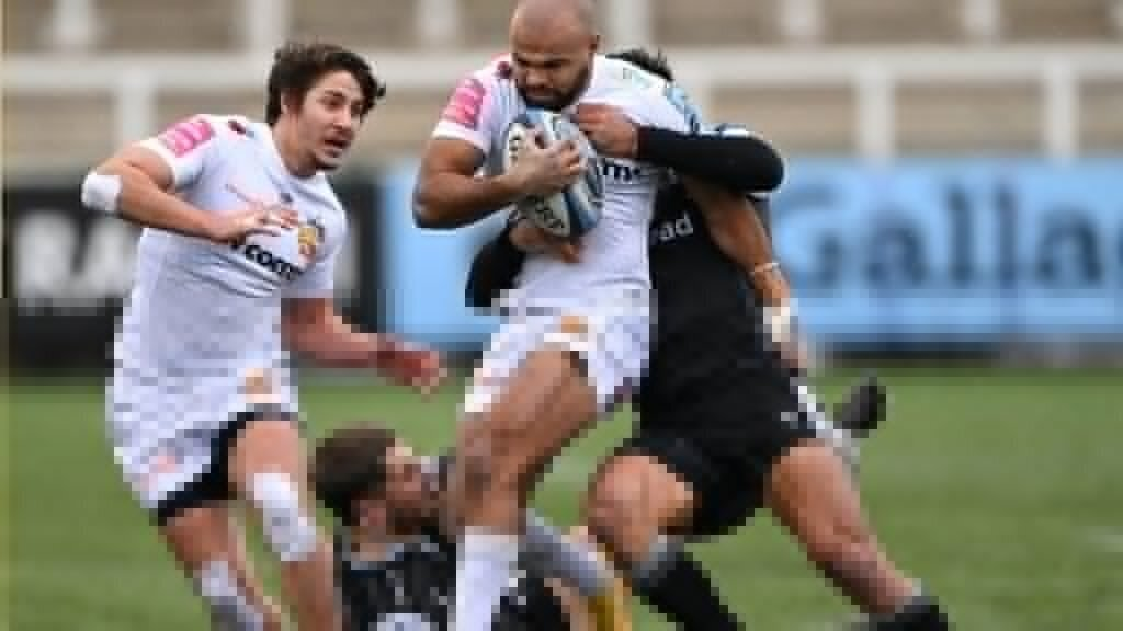 Chiefs see off Falcons in freezing conditions