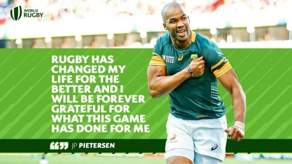 Rugby fraternity salutes 'World-class' Bok
