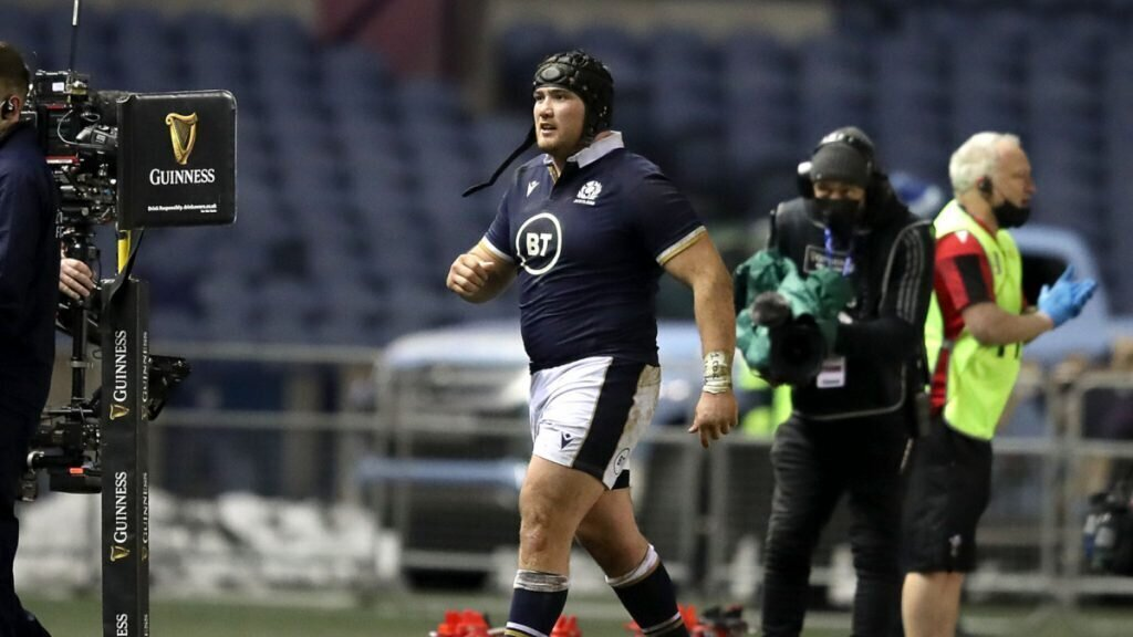Scotland prop out of Six Nations with ban