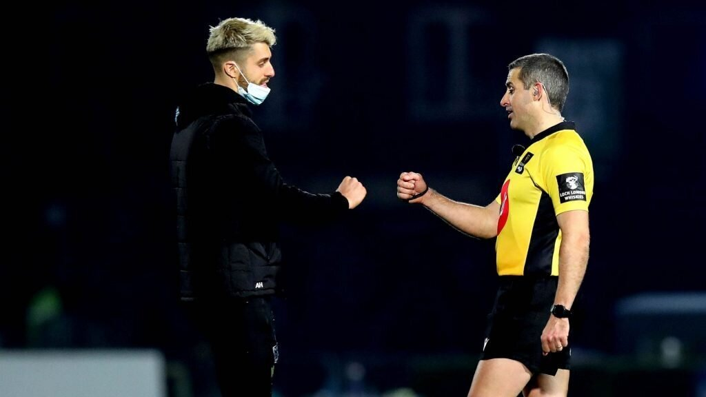 Hastings sent off as Leinster see off Glasgow