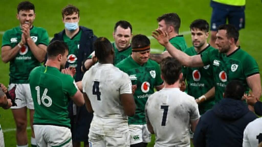 Thirteen-man Ireland embarrass England