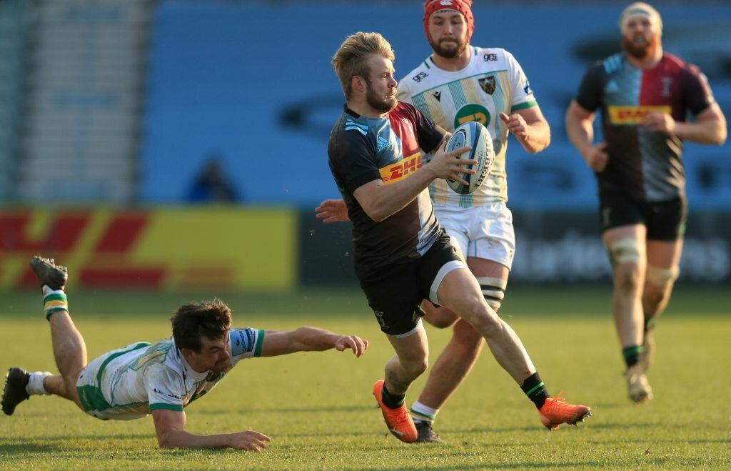 Harlequins beat Saints to move up to third