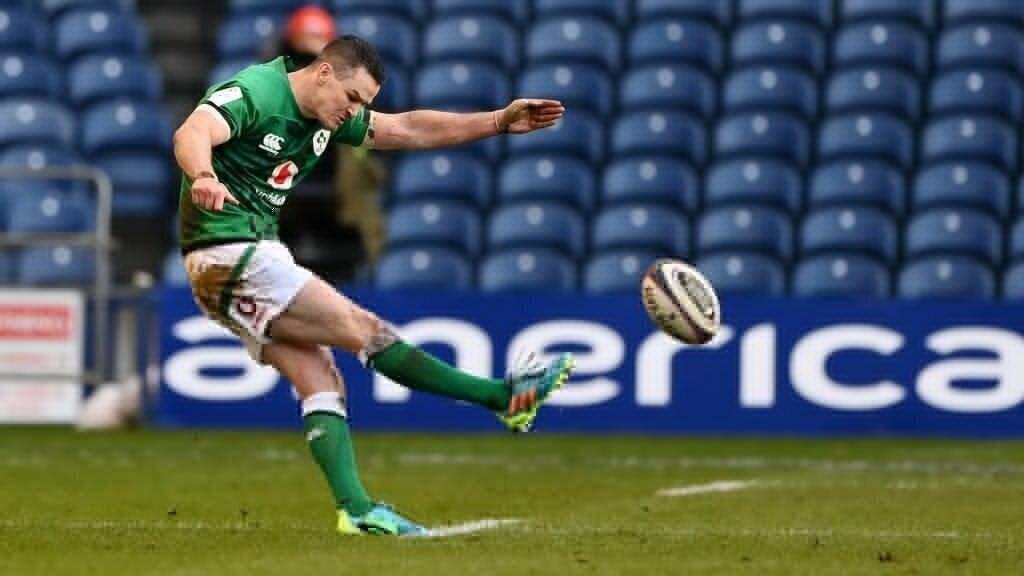 Sexton boot saves Irish blushes