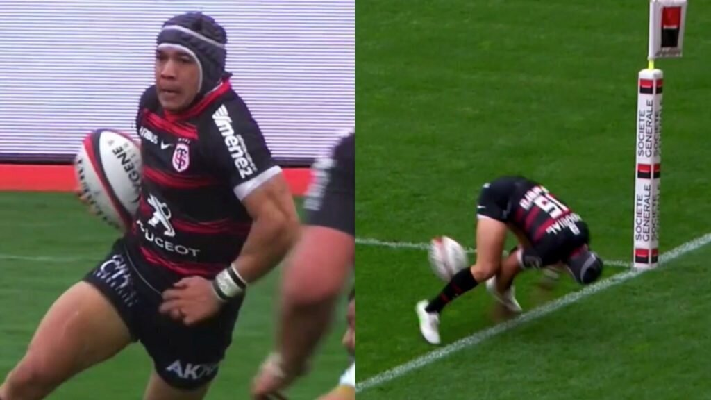 VIDEO: Cheslin Kolbe's amazing escape act