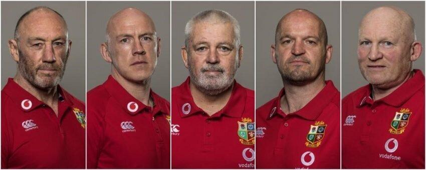 B&I Lions coaching staff