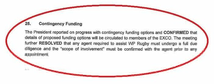 Contingency-funding