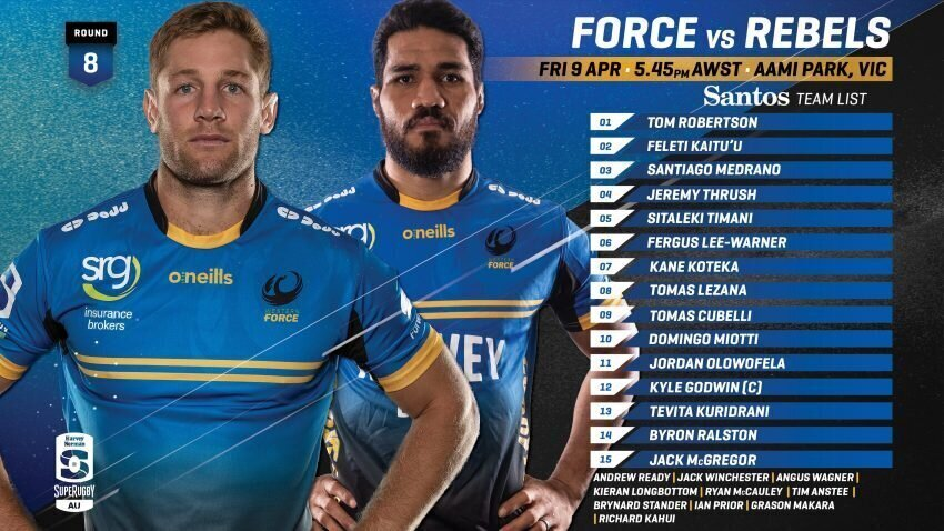 Force team to face Rebels